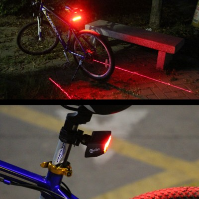 Intelligentes LED Fahrradlampe Set Fahrradlicht Meilan X5 Frontlicht Rücklicht