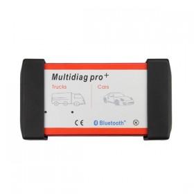 Multidiag Pro + OBD Professionelles Diagnosewerkzeug für DS150E geeignet für Auto und LKW mit neuester Software
